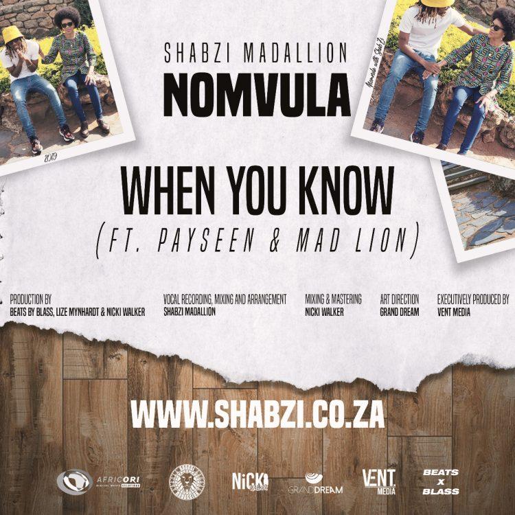 ShabZi Madallion WHEN YOU KNOW